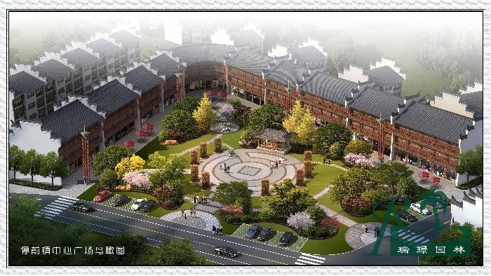 亚搏平台停前中心广场鸟瞰图项目规模:15000平方米项目地址...